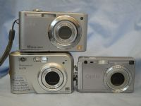' 3 x Cameras ' Panasonic, HP, Penax Digital Camera  -From Shop Closure-  £19.99